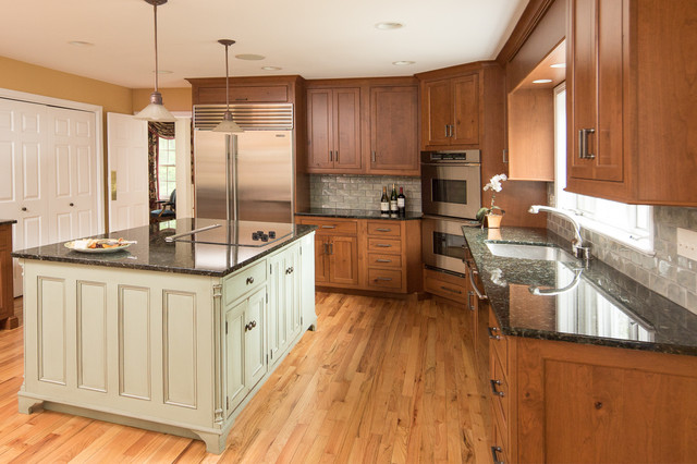 Elegant Casual Custom Cabinets In Ct Kitchen New York By Ackley Cabinet Llc