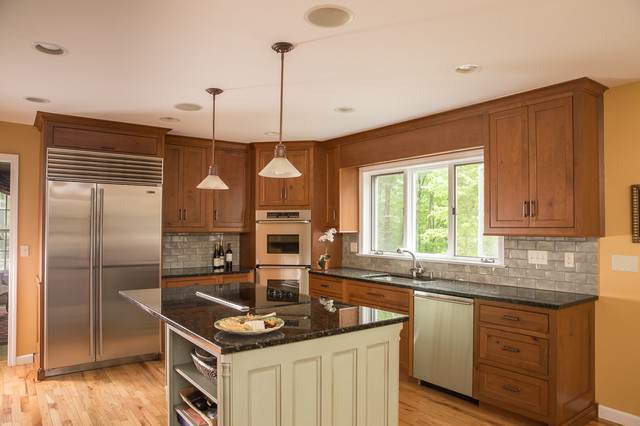 Elegant casual custom cabinets in ct traditional for Elegant traditional kitchens