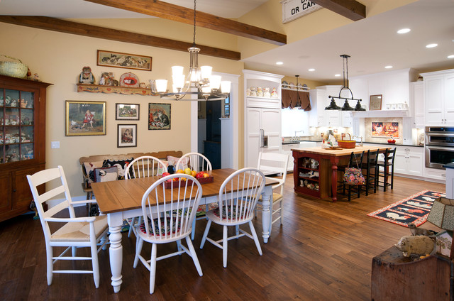 ... Country Charm - Rustic - Kitchen - cincinnati - by Weaver Custom Homes