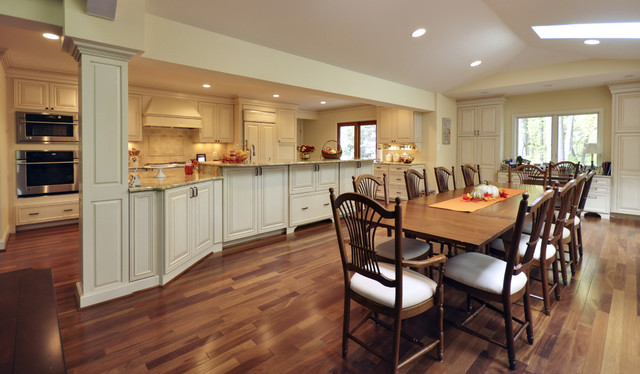 Elegant French Country Kitchen traditional-kitchen