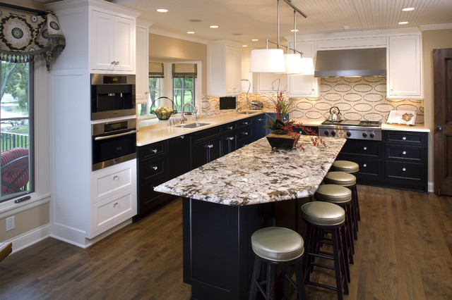 Elegant gourmet kitchen traditional kitchen minneapolis by eminent interior design - Kitchen design minneapolis ...