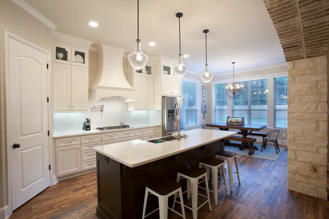 Elegant Home Design Contemporary Kitchen Other Metro By Mckinney Homes Llc