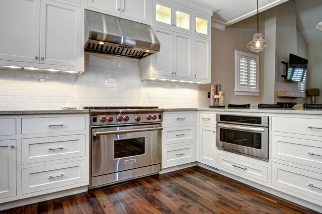 Elegant Inset Shaker - Transitional - Kitchen - charleston ...