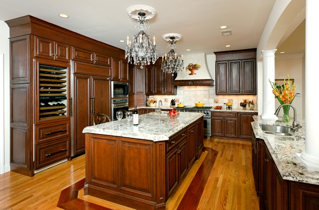 Elegant kitchen traditional kitchen dc metro by kohlmark architects and builders Kitchen design brookfield ct