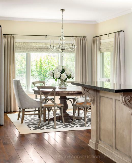 Elegant lake side family residence transitional for Elegant residences kitchens