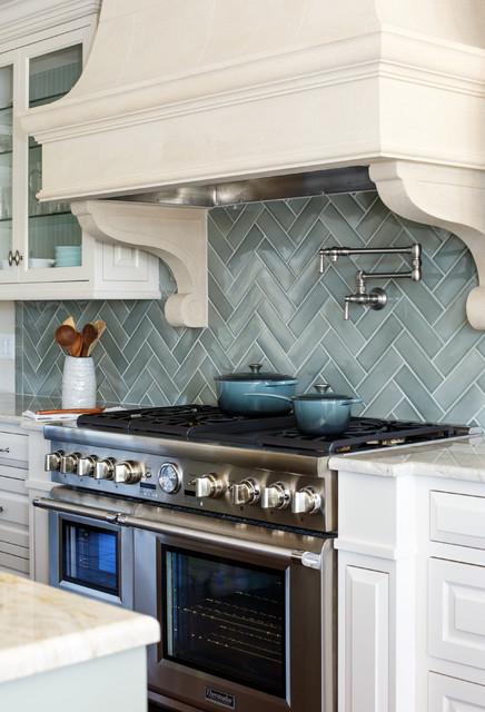 Elegant Provence House Transitional Kitchen Jacksonville By Lisa Gielincki Interior Design
