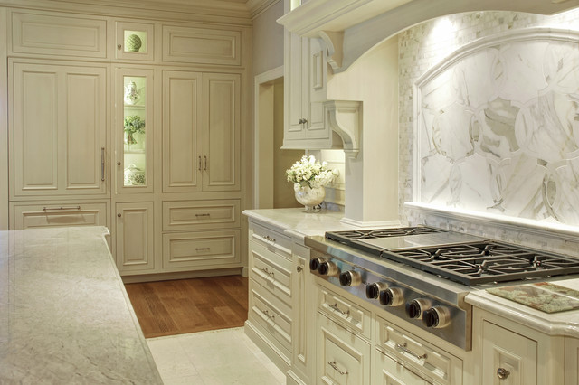 Elegant traditional kitchen design traditional kitchen for Elegant traditional kitchens