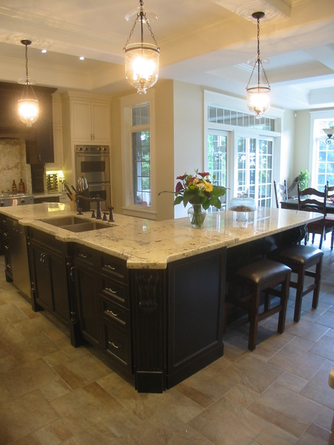 Elegant traditional kitchen for Elegant traditional kitchens