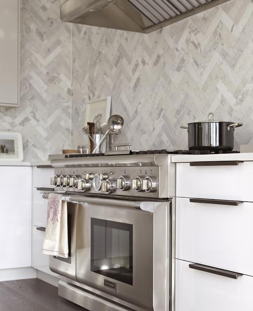 Elegant White Ikea Kitchen Modern Kitchen Toronto