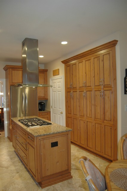 Elegant Wine Country Style Kitchen - Transitional ...