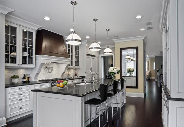 Elegantly detailed kitchen traditional kitchen chicago by tzs design - Chicago kitchen design ...