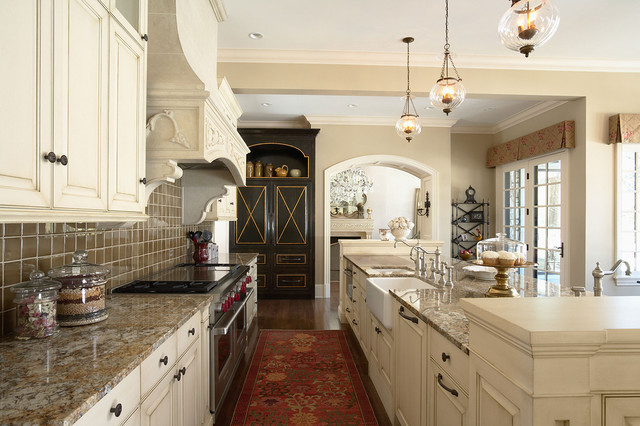 Marvelous Elegantly Detailed Kitchen Work Area Traditional Kitchen