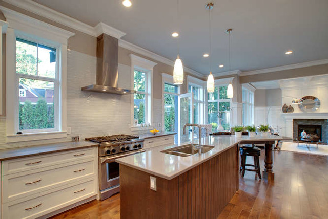 Elgin Park contemporary-kitchen