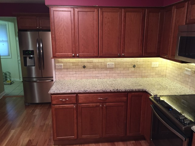 Elk Grove Village Kitchen Remodel Transitional Kitchen Chicago By Total Kitchen Bath Inc