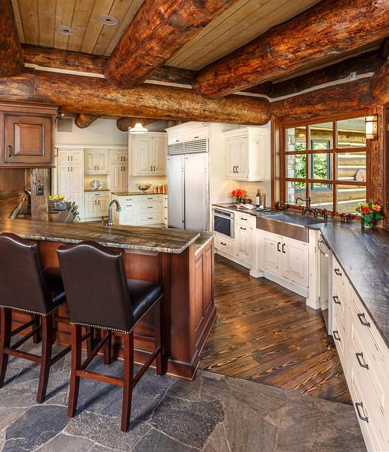 Elk park estate rustic kitchen albuquerque by for Rustic home albuquerque