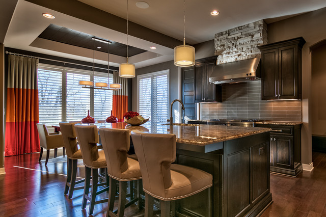 Elkhorn Estate Transitional Kitchen Omaha By Falcone Hybner Design Inc