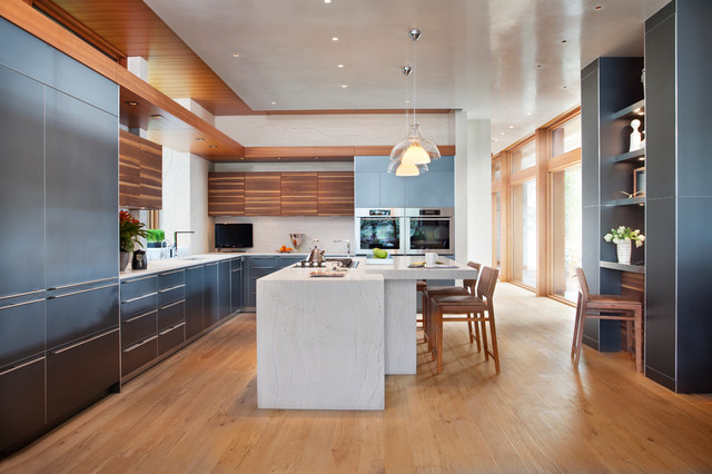 Ella From Cambria S Marble Collection Contemporary Kitchen