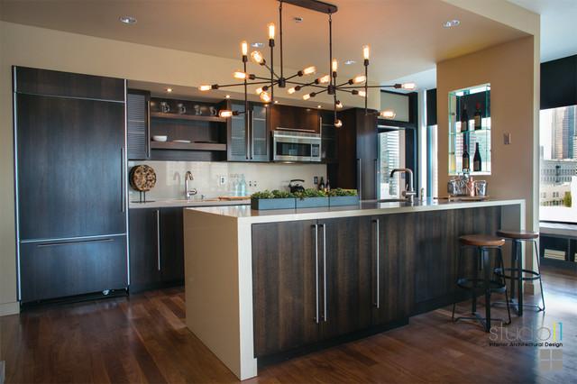 Elleven Loft Downtown Los Angeles Ca Modern Kitchen Los Angeles By Studio 11 Design