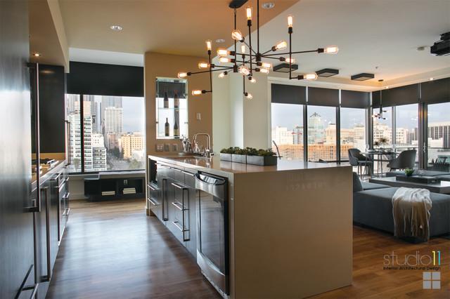 elleven loft downtown los angeles ca modern kitchen los