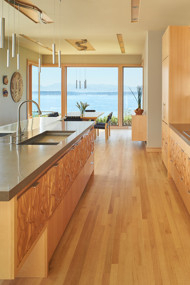 Elliott Bay House - Contemporary - Kitchen - Seattle - by ...