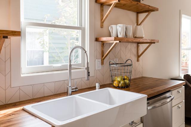 Elmhurst Cottage Farmhouse Kitchen Sacramento By