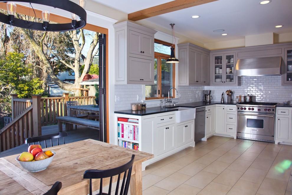Elmwood Kitchen, Dining Room, Bathroom & Deck - Craftsman ...