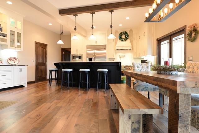 elmwood reclaimed timber - coastal collage hardwood flooring