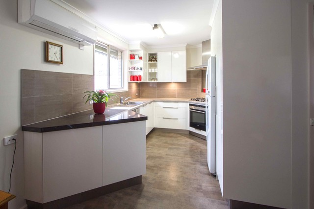 Eltham Kitchen 5 Contemporain Cuisine Melbourne Par The Kitchen Design Centre