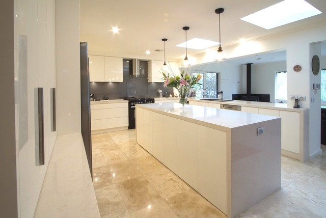 Eltham kitchen 4 modern kitchen melbourne by the for Pool design eltham