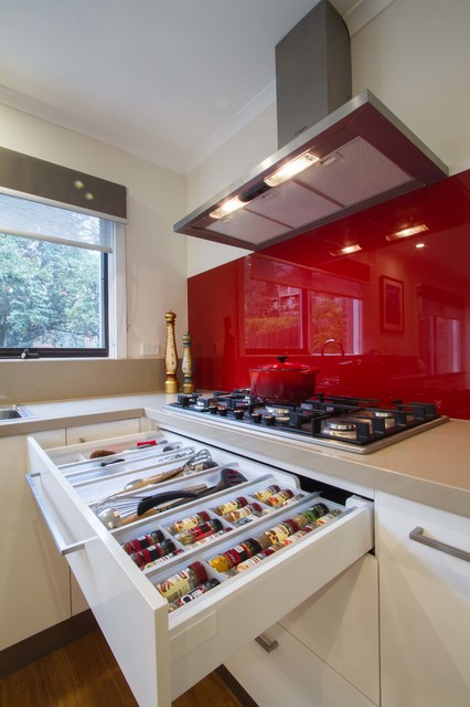 Eltham North Family Kitchen Modern Kitchen Melbourne By The Kitchen Design Centre