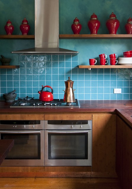 Camilla Molders Design eclectic-kitchen