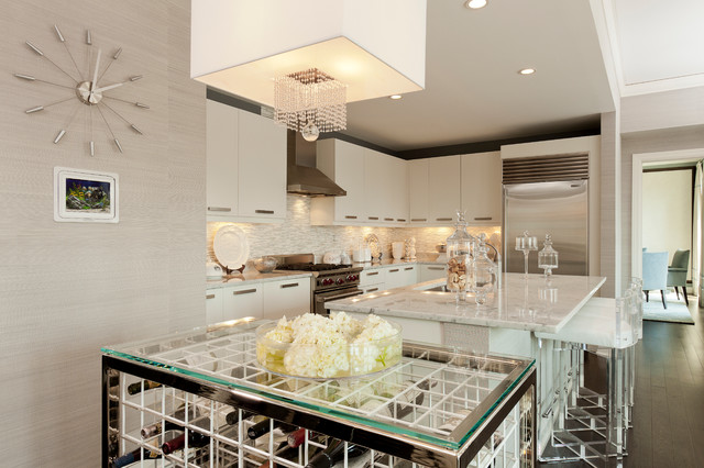 Elysian Residence contemporary-kitchen