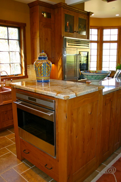 Emigration Canyon Home traditional-kitchen