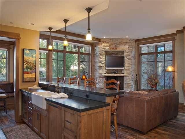Empire Club Drive Park City Home traditional-kitchen