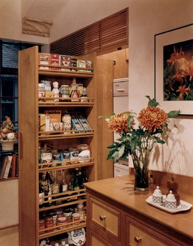 Empty Nesters Create A Bit Of Tuscany In The Midst Of NYC mediterranean-kitchen