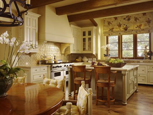 cocina muebles castellanos lacados en crema