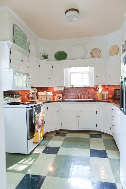 Enchanted Storybook Shabby Chic Style Kitchen Nashville By