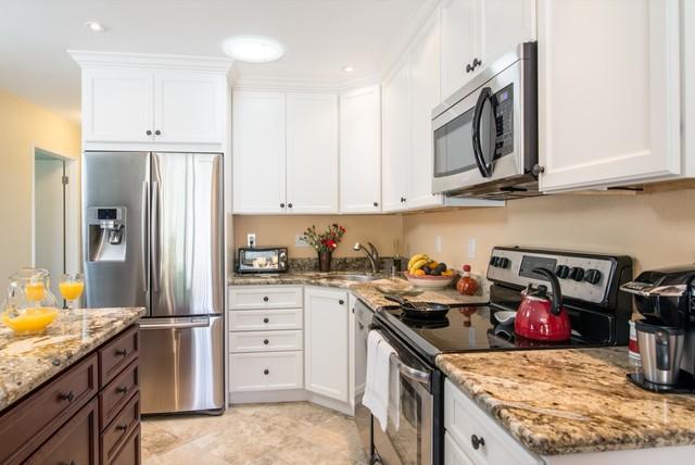 Encinitas California Small Kitchen Design Traditional Kitchen