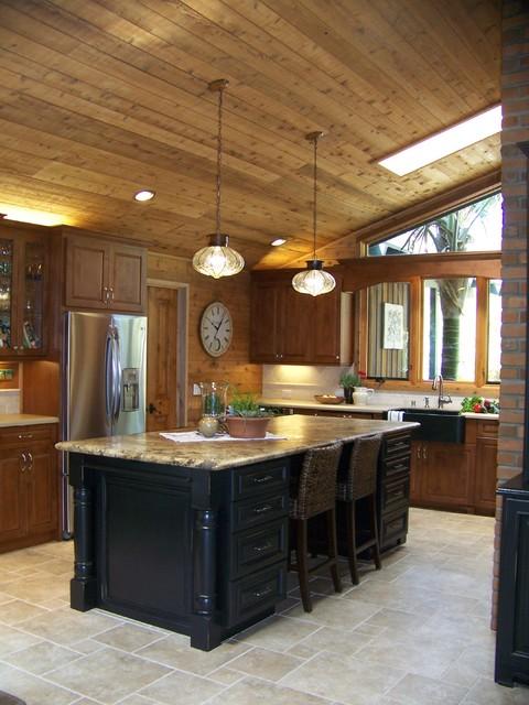 Encinitas remodel traditional-kitchen
