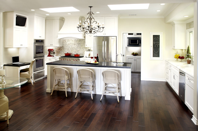 encino home - traditional - kitchen - los angeles - by eve