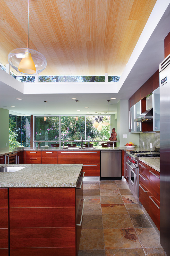 Encino Modern - Contemporary - Kitchen - Los Angeles - by ...