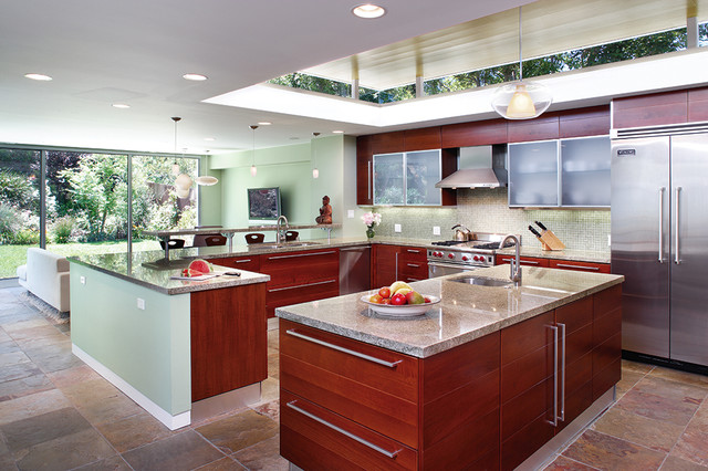 Encino Modern contemporary kitchen