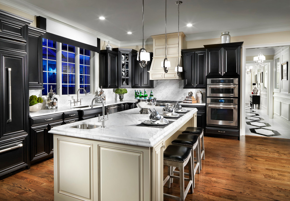 Enclave at Rye Brook | Harkness - Traditional - Kitchen ...
