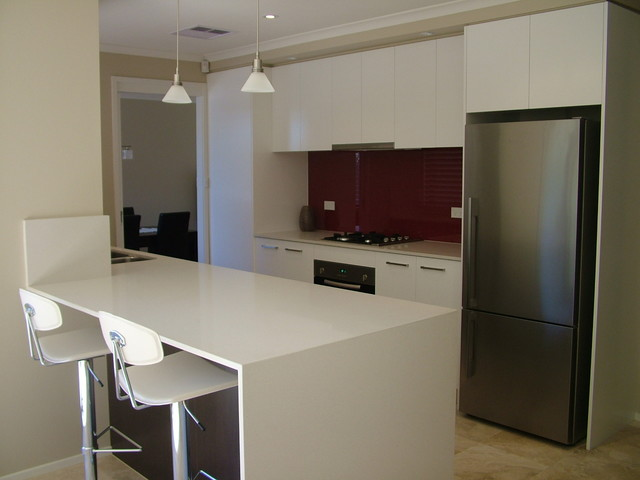 endensor park bauhaus look k che sydney von exclusive kitchens joinery. Black Bedroom Furniture Sets. Home Design Ideas