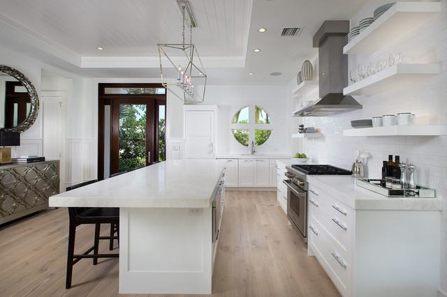 Engineered Hardwood Floors Installation - Transitional ...
