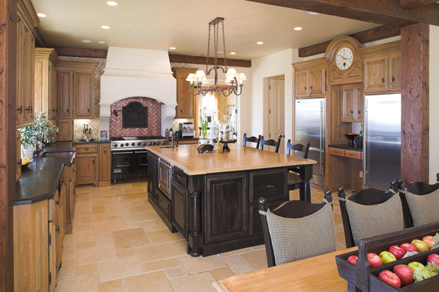 English country for Traditional english kitchen