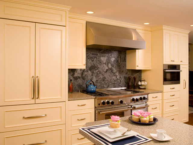 English Country Kitchen traditional-kitchen