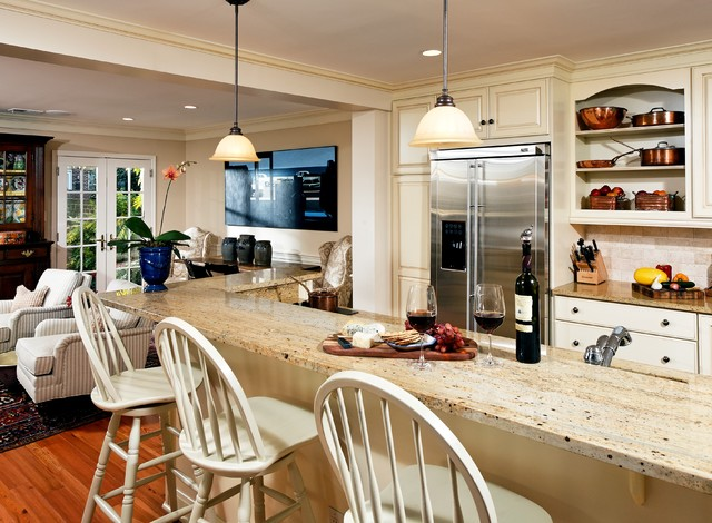 English kitchen traditional kitchen dc metro by for Traditional english kitchen