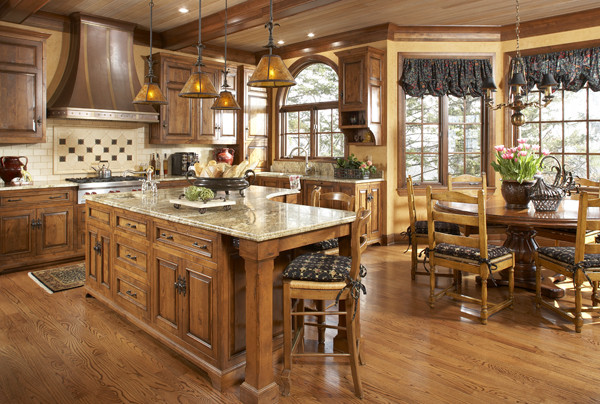 English manor house in edina traditional kitchen for Traditional english kitchen