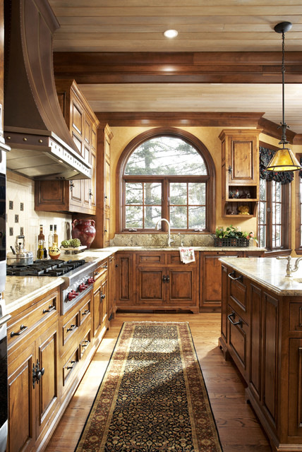 English Manor House In Edina Traditional Kitchen